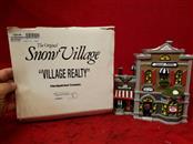 VTG Department 56 Snow Village Realty 1990 #5154-3